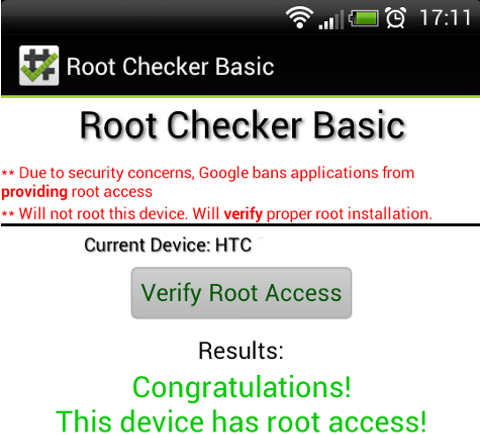 Android Root access