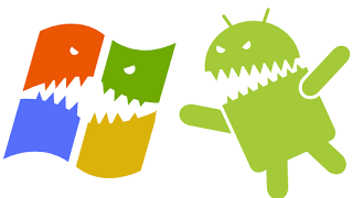 android windows-figth