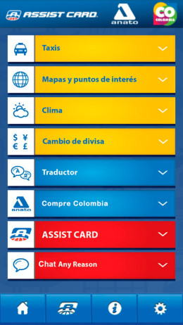 Aplicaciones Moviles Assist Card Colombia