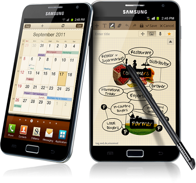 phablets galaxy note