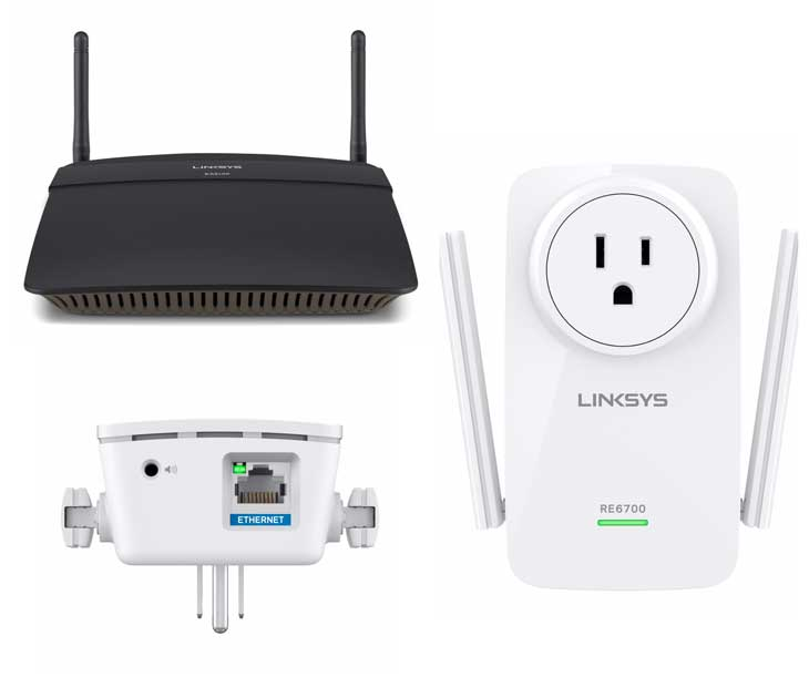Linksys EA6100AC y RE6700