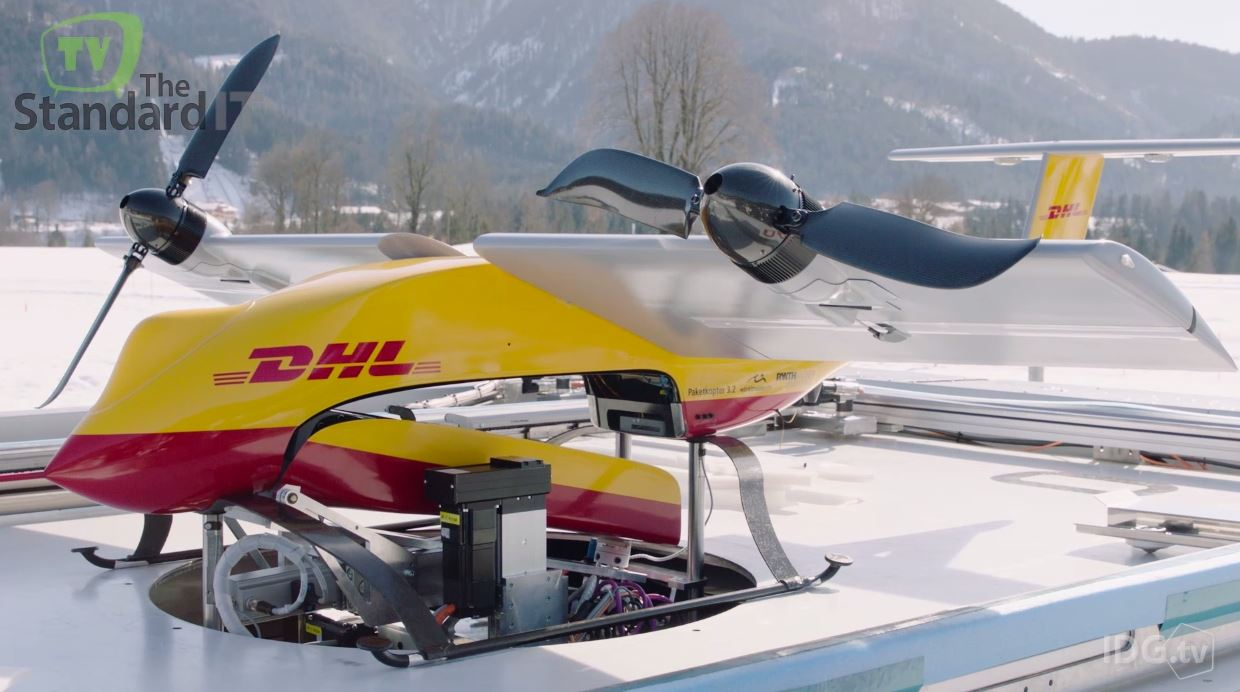 dhl parcelcopteros