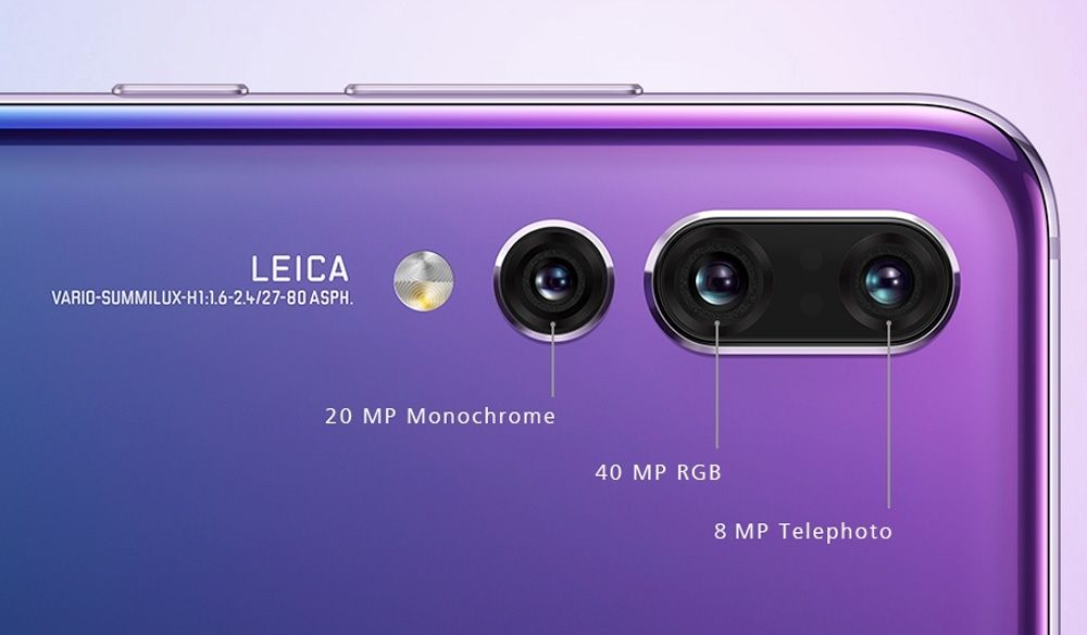 Atributos Fotogr 225 Ficos Del Huawei P20 Pro Pc World En