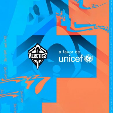 Team Heretics sella alianza con UNICEF España