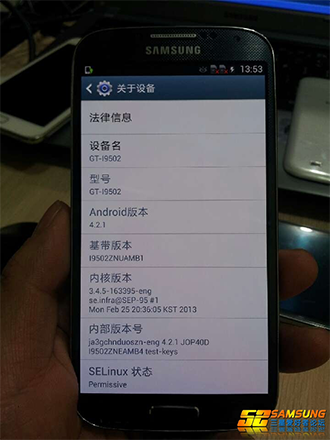 Leaked GalaxyS4 010