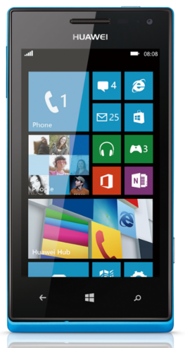 Centro Empresarial Huawei Ascend W1 02