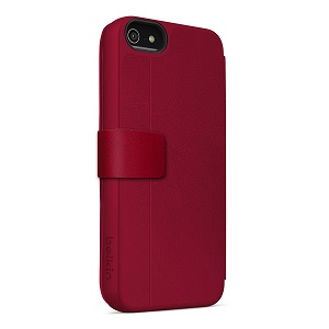 Wallet case for iPhone 5C rose